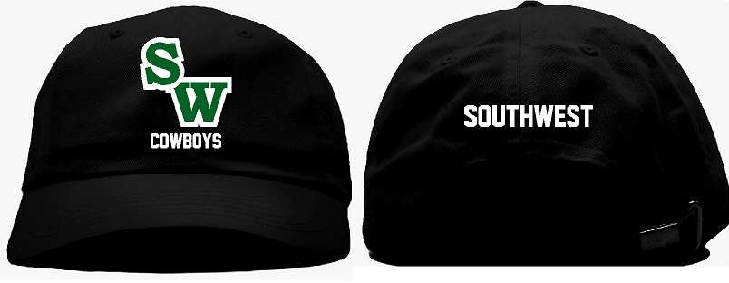 Embroidered ball cap - Black