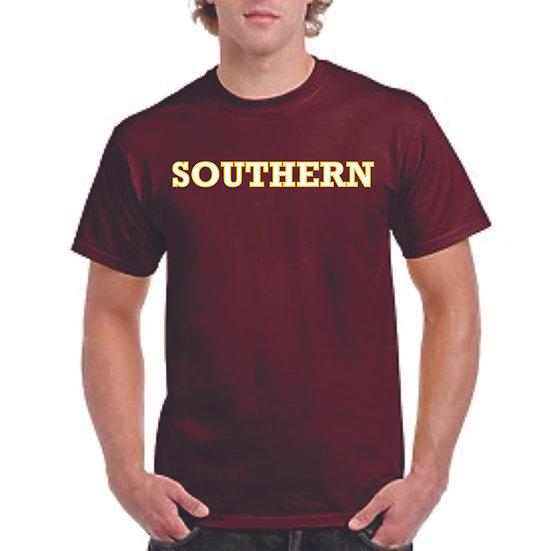 Southern logo dry-fit shirt