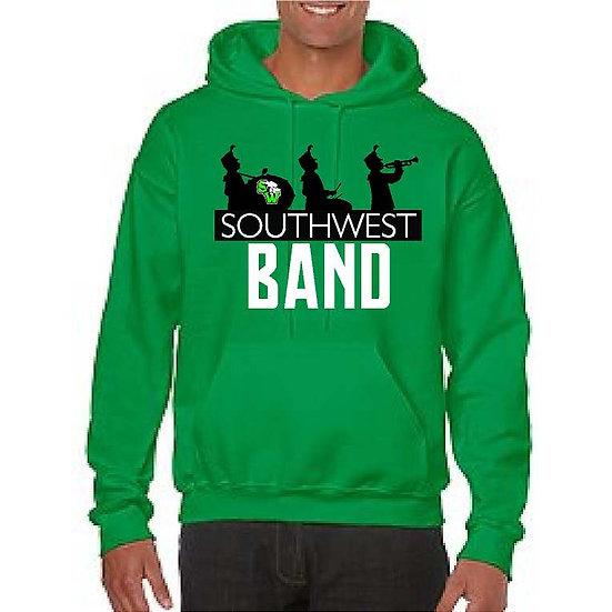Band Hoodie - optional name on back