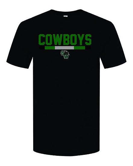 Collegiate Cowboys t-shirt