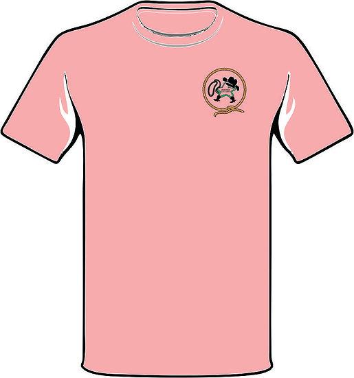 Lasso Back pink t-shirt