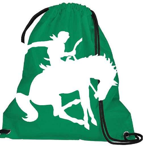 Large logo Sling Bag - Kelly Green