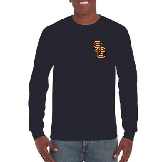 Long sleeve SG logo printed shirt