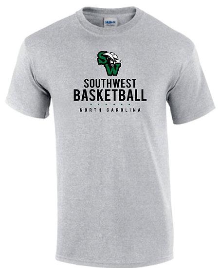 Sw Logo Basketball - T-Shirt