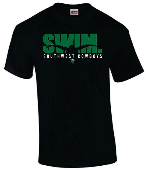 Black T-Shirt: Swim