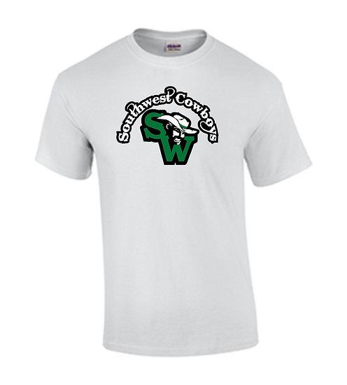 Southwest Cowboys & Logo (White)