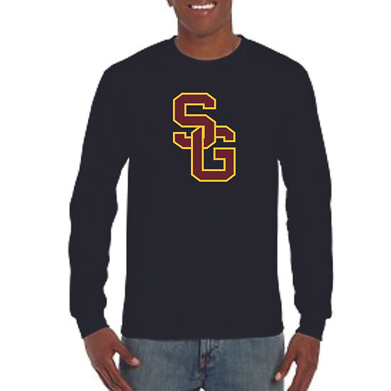 Long sleeve large SG logo dry-fit shirt