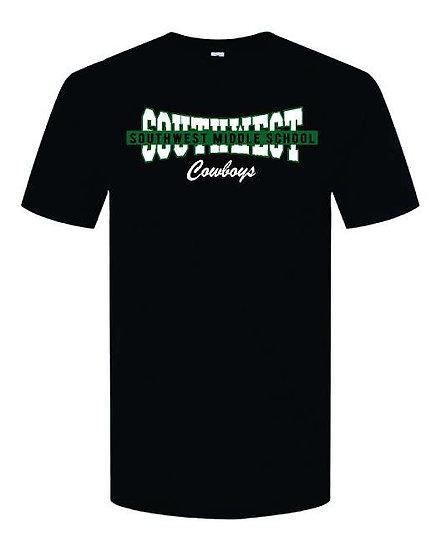 Short sleeve banner shirt