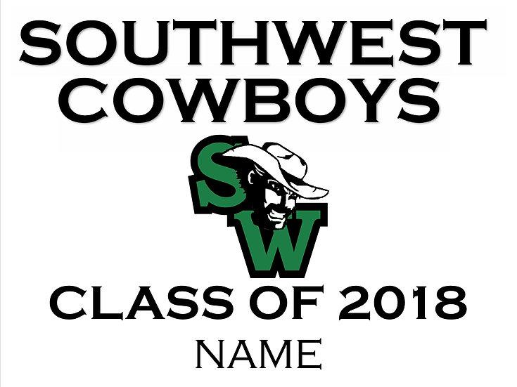 Class of 2018 Spirit Sign