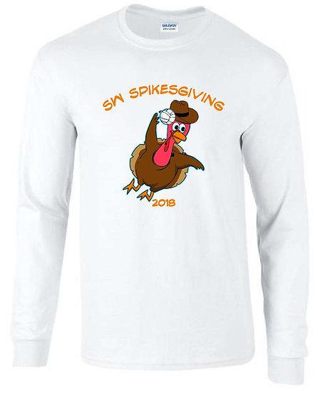 Spikesgiving long sleeve t-shirt