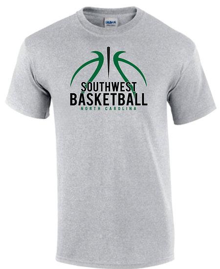 Line Art Basketball - T-Shirt