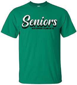 2021 Senior Shirt - Layer design