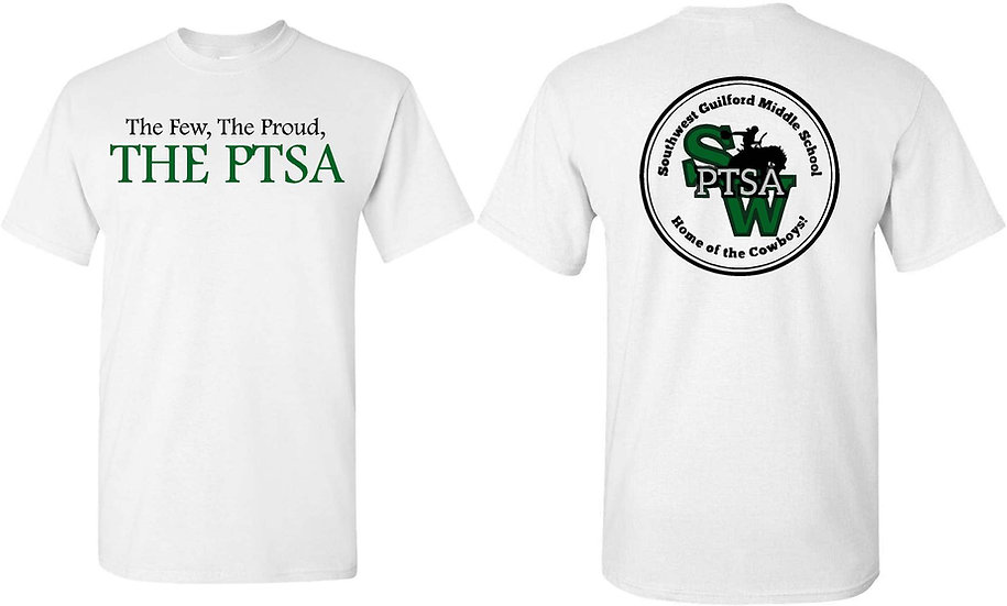 THE PTSA t-shirt -white