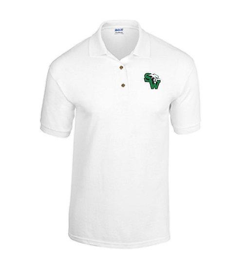 Dry Blend Polo Shirt - White