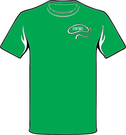 SWMS Cowboy shirt - green