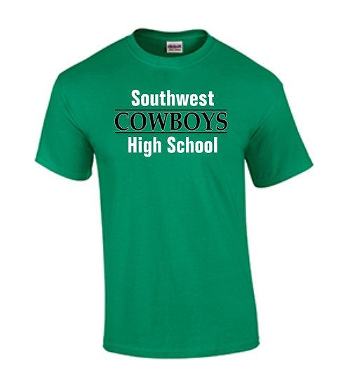 Southwest COWBOYS High School (Kelly Green)