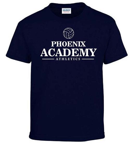 Navy Volleyball Shirt
