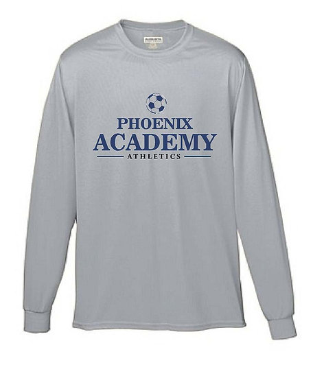 Long Sleeve Dry Fit Soccer Shirt