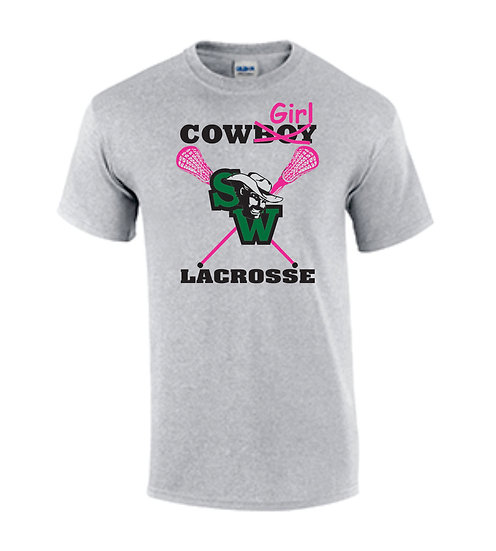 Cowgirls Lacrosse (Grey)