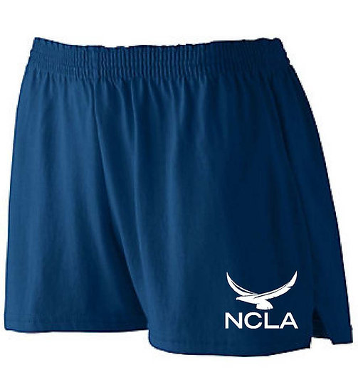 Girls PE shorts (runs small)