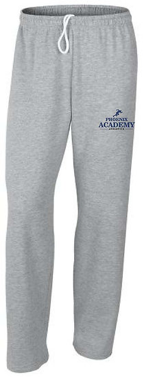 Open Leg Track Logo Sweatpants