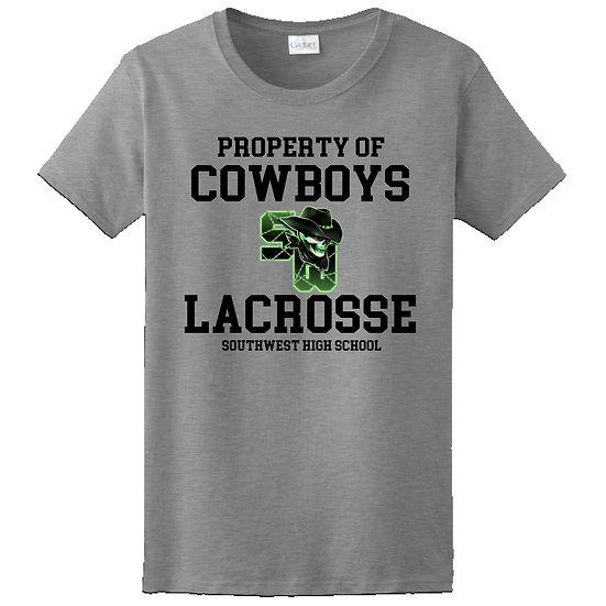 Property of Cowboys Lacrosse