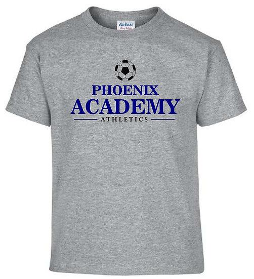Gray Soccer Shirt