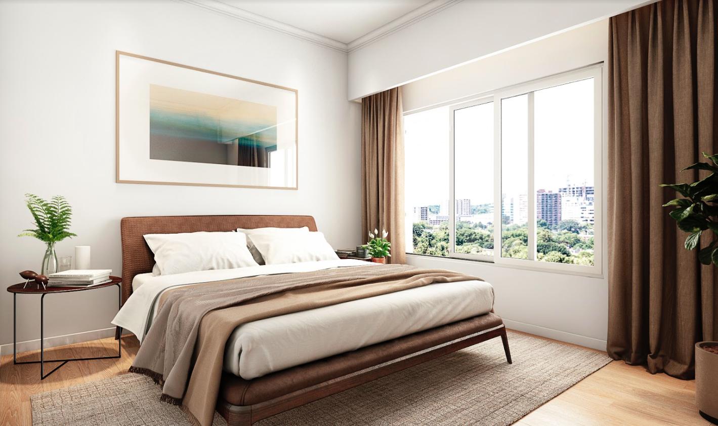 dormitorios de render profesional