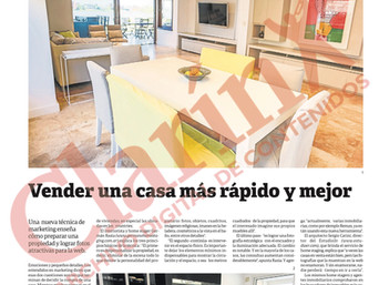 Home Staging en Clarin - Nota completa