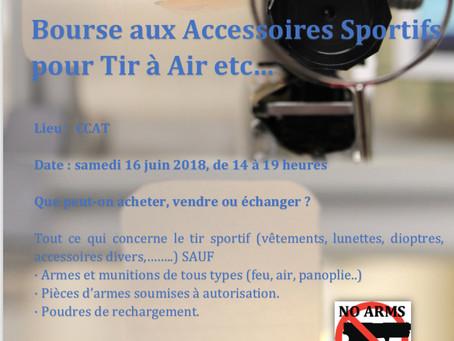 Bourse aux Accessoires Sportifs pour Tir à Air