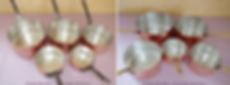 Etamage alimentaire cuivre