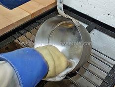 lissage du cuivre étamer