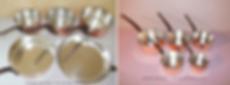 Étameur de casserole en cuivre