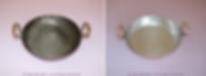 Etamage de cassolette en cuivre