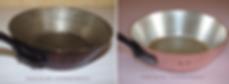 Etamage de casseroles en cuivre