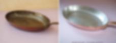 Étamage d une poëles cuivre