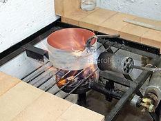etamage casserole en cuivre