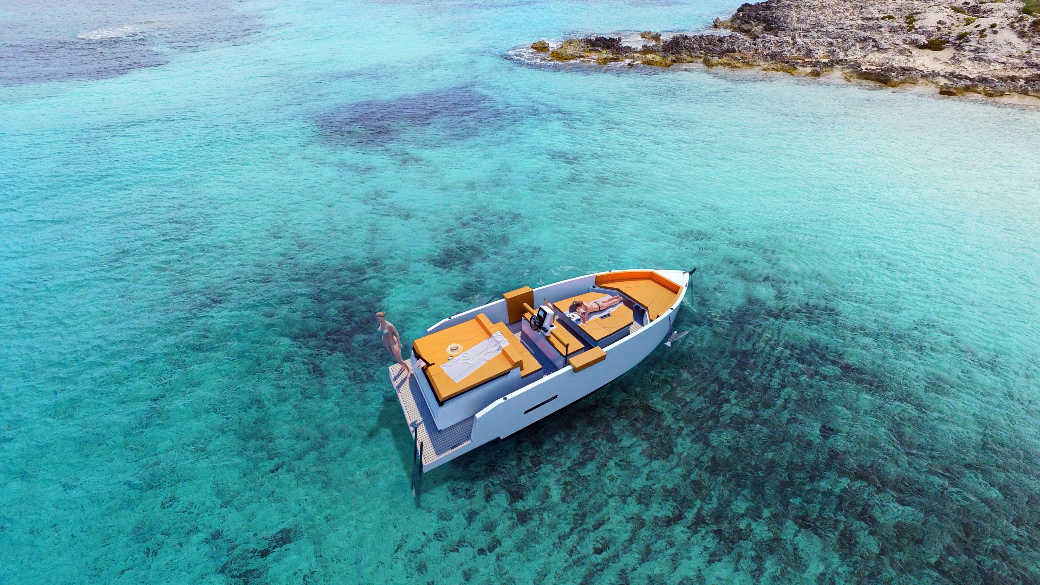 De Antonio Yachts_D28 Deck_Render_02