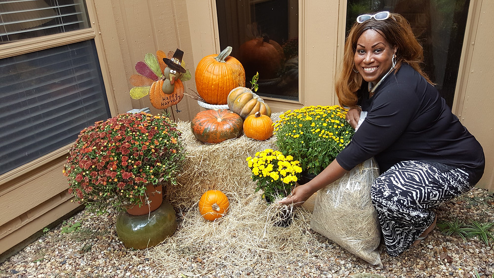 Mosland,Operations Manager, Decorating For Fall.