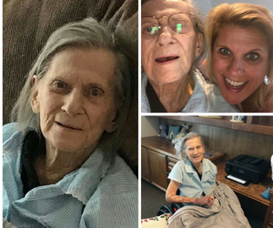 Light Heart Memory Care resident and caregiver