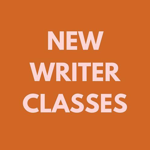 New Writer Wednesday