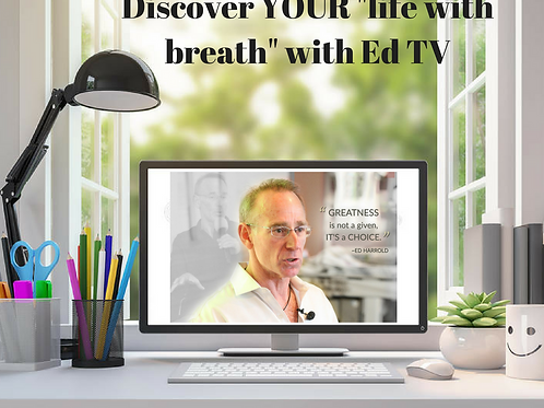 EdTv Streaming Breathwork Portal