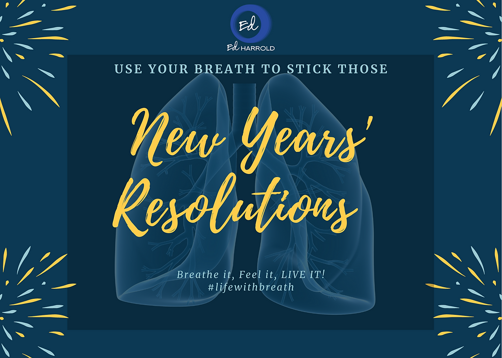 Ed reveals how you can apply breathing exercises to overcome sub-conscious mindsets that keep us from achieving our New Years Resolutions
