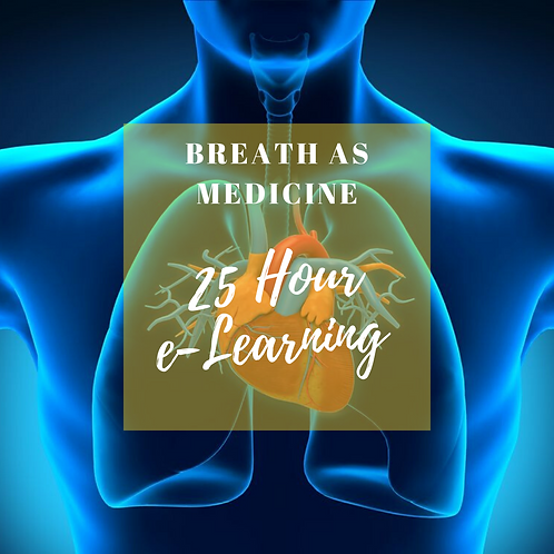 25-Hour Breath AS Medicine Training