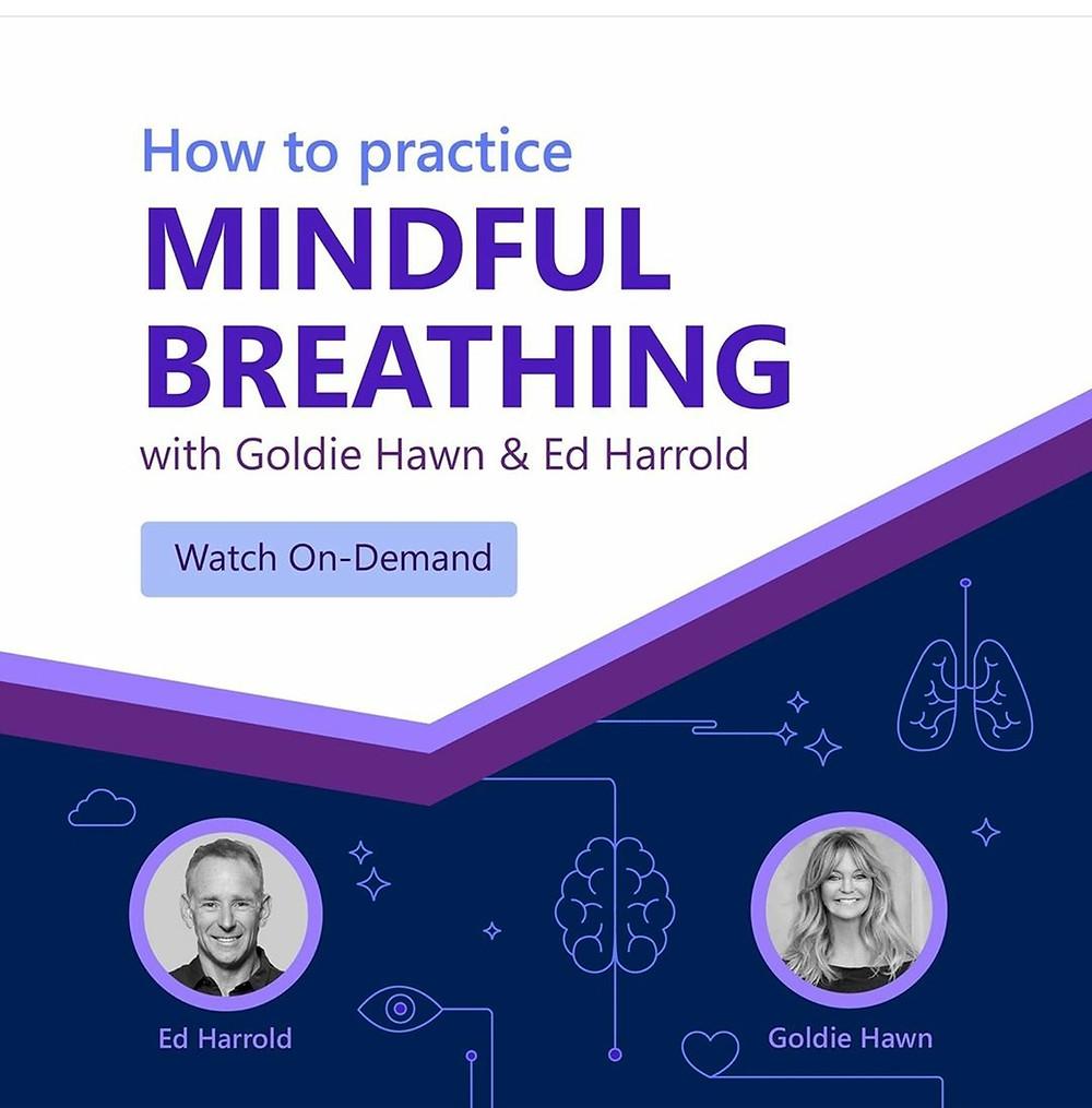 As part of the MindUP Expert Series, Goldie Hawn interviews Ed Harrold on the art and application of breathing to reduce stress and improve well-being.