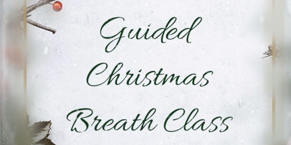 LIVE Christmas Breath Class