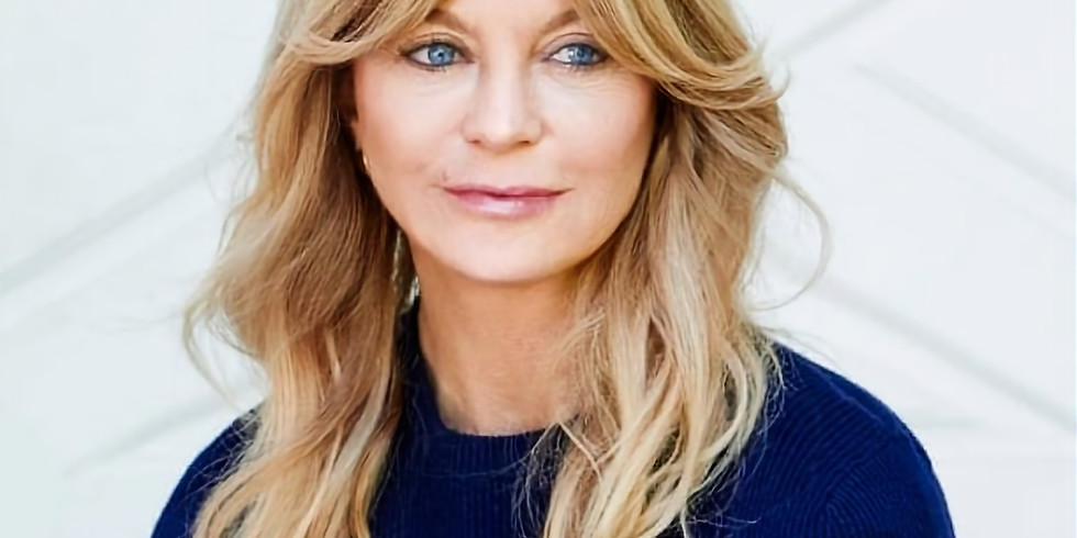 Goldie Hawn & Ed Harrold The Power Of Breath For Stress Reduction & Well-Being LIVE WEBINAR
