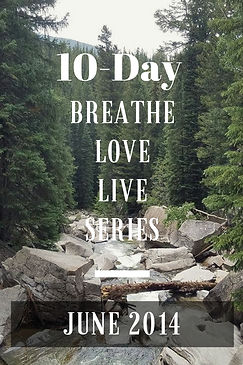 Ed Harrold 10-Day Breathe Love Live Series