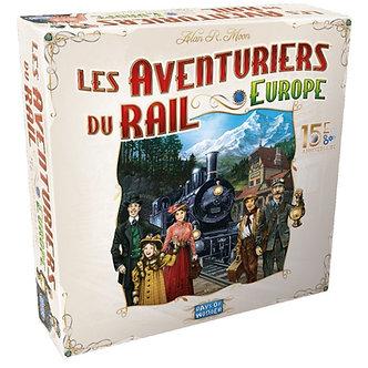 Aventuriers du Rail - Europe 15E Anniversaire