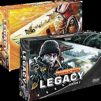 Pandemic Legacy - Saison 2 - Noir (VF)